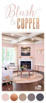 Blush is quickly becoming the new neutral when it comes to wall color.  Balance your blush with metallic, copper tones for decor that's chic and  not too ...