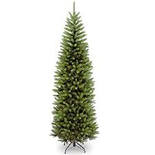 Amazon.com: National Tree 7.5 Foot Kingswood Fir Pencil Tree (KW7 ...
