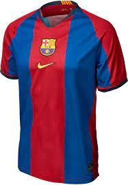 1998/1999 Nike Pep Guardiola Barcelona Retro Home Jersey - SoccerPro