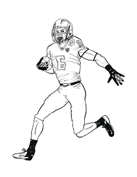 600x776 nfl football pictures to color football player coloring pages
