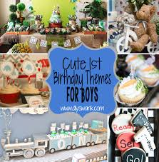 party ideas and themes archives diy swank 8 cute boy 1st birthday party themes