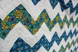 Zig-Zag Quilt | Stitch Fancy & The last part that I love about this quilt for a bed quilt is that it's  really soft. It's hand quilted, which gives it added softness, and I used  Hobb's ... Adamdwight.com