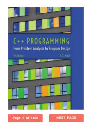 Ds Malik C Programming From Problem Analysis To Program Design C Programming D S Malik Pdf From Problem Analysis To