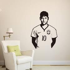 soccer sports celebrity neymar 3d wall sticker home decor wall decal bedroom living room wallpaper souq uae
