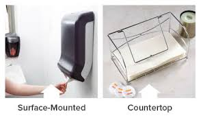 countertop paper towel holder. If There Isn\u0027t Much Room In Your Bathroom Or Kitchen, Then A Surface-mounted Recessed Paper Towel Dispenser Would Be The Best Fit. Countertop Holder C