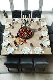 farmhouse dining room table seats 12. large square dining room table that seats 12 farmhouse o