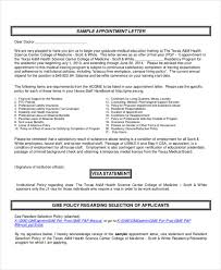 Interview Appointment Letter - 7+ Free Word, Pdf Documents Download ...