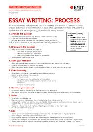 essay on writing process 1 my school essay writing the writing center