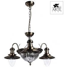 <b>Люстра подвесная arte lamp fisherman</b> a5518lm-2-3ab с ...