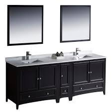 bathroom cabinets double sink. Fresca Bath FVN20-361236ES Oxford 84\ Bathroom Cabinets Double Sink M