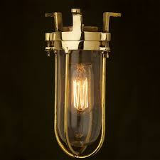 caged lighting. fixed ships caged glass ceiling light lighting
