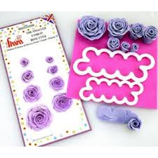 Paper Flower Cutting Tools Fmm Smaller Easiest Rose Ever Cake Icing Flower Cutter From Only 5 91