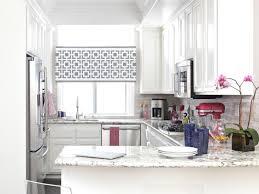 small kitchen window treatments