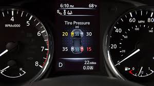 Nissan Altima Warning Lights 2017 Nissan Tire Pressure Monitoring System Details Features