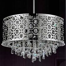 full size of lighting endearing white drum shade chandelier with crystals 9 0001591 23 forme modern