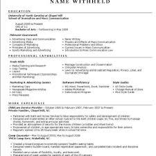 Resume Style Guide Functional Resume Example Resume Format Help Intended For Resume 19
