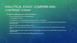 exposition analytical essay examines the details of a topic in  3 analytical