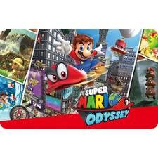 Gift Card Digital Mario Odyssey para Nintendo Switch no Submarino ...