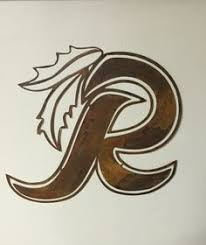 redskins metal wall art decor sign hanging decoration man cave football on redskins metal wall art with pin by merri mary on my team pinterest
