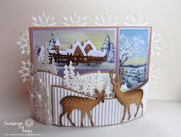 Folded Christmas Photo Cards Merry Christmas And Happy New