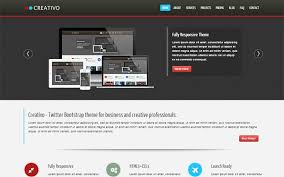 Bootstrap Website Templates Inspiration Creativo Responsive Website Template Business Corporate