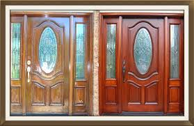 old door re stain refinish restoration gany