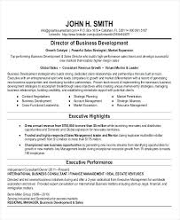Business Development Resume Examples Cover Letter For Business