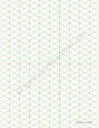 Isometric Samples Graph Paper Printable Graph Paper Download Templates