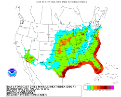 Excessive Daytime And Nighttime Heat This Week In The