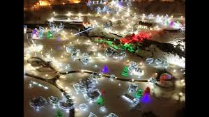 Sioux Falls Sd Falls Park Christmas Lights Helicopter Ride Over Falls Park Decorated With Christmas Lights