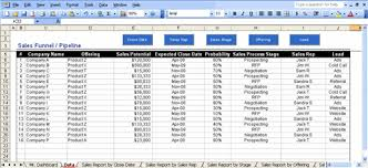 Excel Pipeline Magdalene Project Org