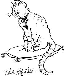 Cat Coloring Pages Printable And Cat Coloring Pages Kids To Make