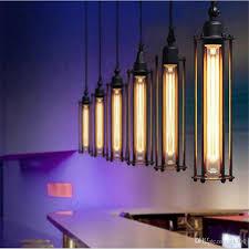 pendant lighting edison. Edison Vintage Pendant Lamp Loft Wrought Iron Chandeliers Dining Room Retro Flute Hanging European Indoor Lighting Fixture 110v 240 Industrial B