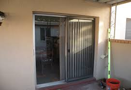 single patio doors. Single Patio Door With Blinds Modern Center Hinged Doors