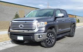 2014 Toyota Tundra Limited - big, capable, lacking