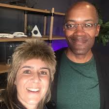 PHYSICIST CLIFFORD JOHNSON : ON QUARKS, SPACE-TIME AND GOD by X-Rae: With  Rae Lynn Caspar White