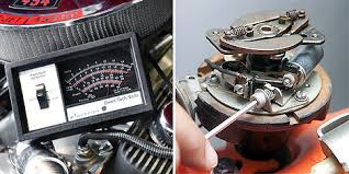 how to fix old school ignition points diy auto setting dwell changing the clearance in the points affects the proportion of time the points are closed dwell and the charging of the coil