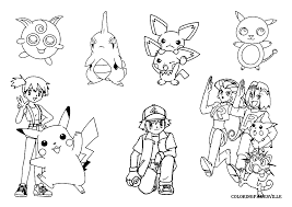 Small Picture Pokemon Card Coloring Pages