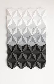 white wall art 3d geometric wall