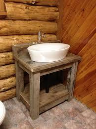 Barnwood Bathroom Reclaimed Barn Wood Bathroom Vanity 24 72 24 Reclaimed Wood