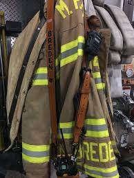 custom firefighter radio strap from jp custom leatherworks