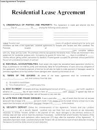 Simple Rental Lease Agreement Free Residential Lease Agreement Word Doc Basic Simple