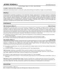 School Superintendent Cover Letter Construction Superintendent