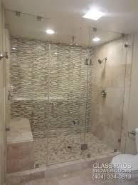 amazing frameless shower door enclosures frameless shower enclosures canton ga glass doors