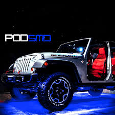 Bright Rock Lights Details About Led 4x4 Off Road For Jeep Under Body Rock Lights Ultra Bright Blue