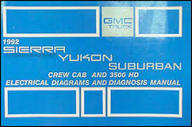 gmc sierra yukon suburban wiring diagram manual