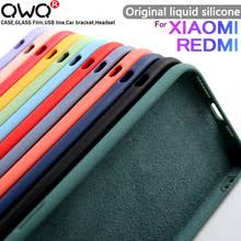 <b>Original velvet Liquid Silicone</b> Case For Xiaomi mi 9 9SE 10 A3 ...
