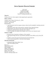 Machine Operator Job Description For Resume Telephone Operator Resume Resume For Study 33