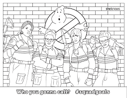 Small Picture Ghostbusters Coloring Pages 8275