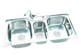 kitchen sink installation cost of replacement uk installati
